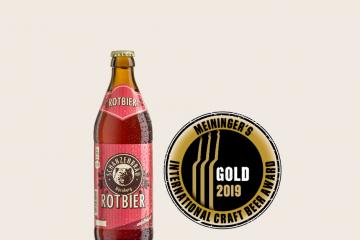 Gold Auszeichnung für Schanzenbräu Rotbier