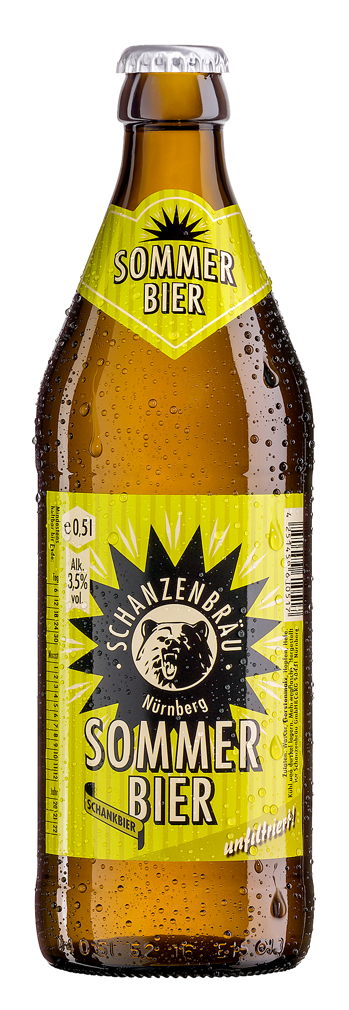 Sommerbier Brauerei Schanzenbräu Craft Beer Leichtbier